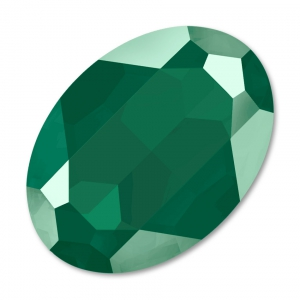 Cabochon Swarovski 4127 Oval 30x22mm  Crystal Royal Green x1