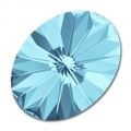 Swarovski 4122 Oval Rivoli Fancy Stone 18x13,5 mm Aquamarine
