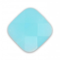 Facettiertes Quadrat 10mm Aquamarine Opal x1