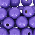 Runde Holzperle 10 mm Lilac  x47