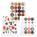 Stickers Paper Poetry Puristic Christmas Weihnachtsdeko 20 Musterx194