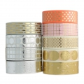 Klebeband - Paper Poetry Tape 15mm Striche gold x10m
