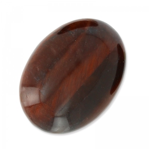 Ovaler Cabochon 18x13mm roter Tigerauge