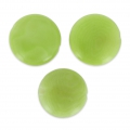 Steinnuss Pucks 12 mm Lime x 4