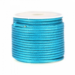 Polyester Schnur Typ type snake cord 2mm Green Turquoise x10m