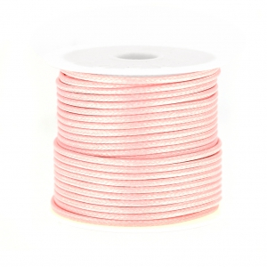 Polyester Schnur Typ snake cord 1.5 mm Light Rose x10 m