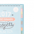 Büro Kalender  2017 Mr. Wonderful J'ai de grands projets pour toi