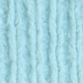 Samtgewebe Minky - Chenille Soft Cuddle Solid Light Aqua x10cm