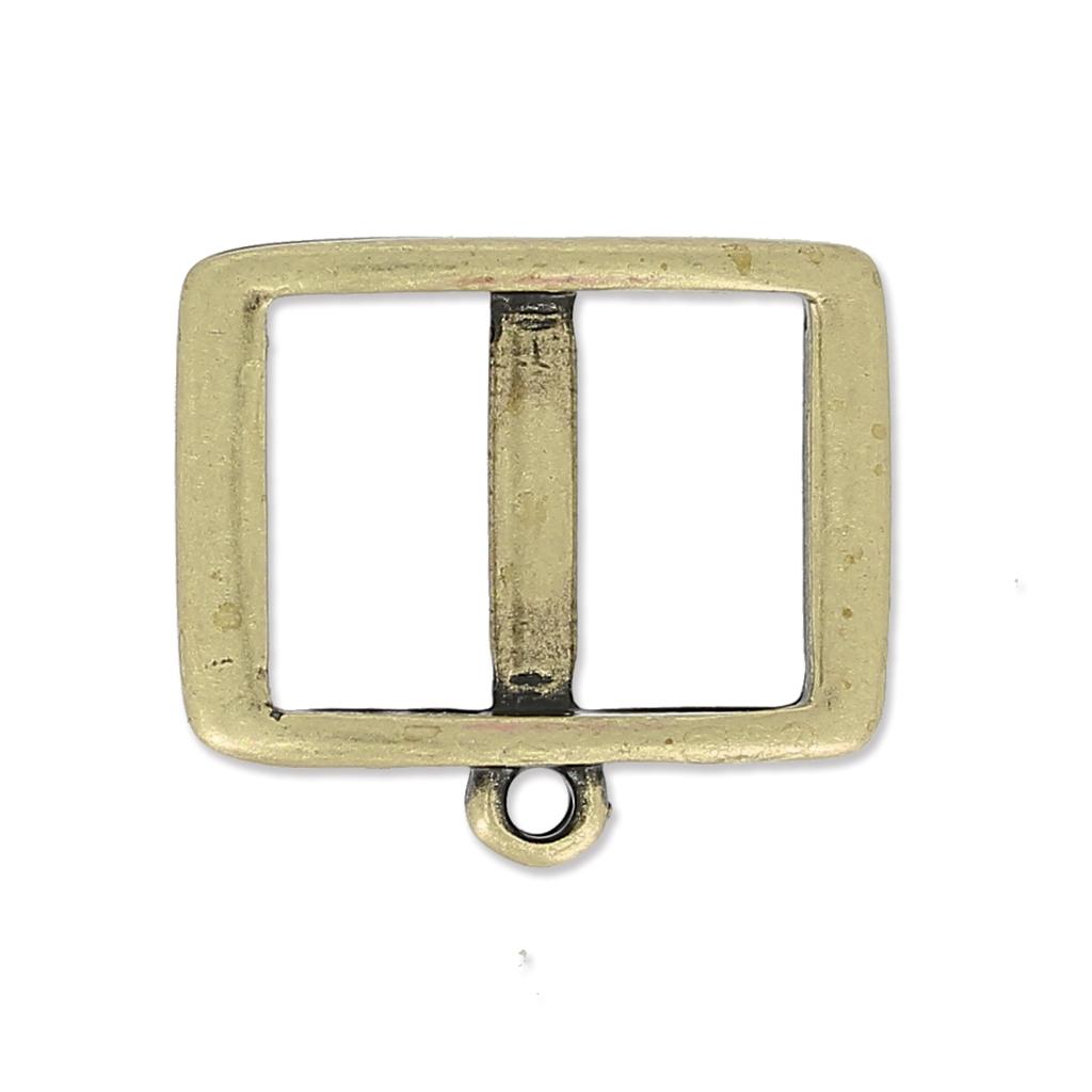 zwischenteil f r 10mm band mit ring 17 5 mm bronze x11 perles co. Black Bedroom Furniture Sets. Home Design Ideas