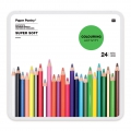 24 Buntstifte Colouring activity 8 mm in Metall Box