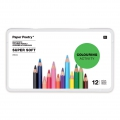 12 Buntstifte Colouring activity 8 mm in Metall Box