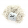 Wolle Fashion Super Fur Duo Creme x50g