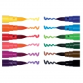 Sortiment mit 12 Filtzstiften Colouring activity 1-4 mm bunt