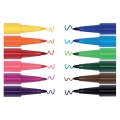 Sortiment mit 12 Filzstiften Colouring activity 2,5 mm bunt