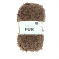 Laine Fashion Fur Brun x50g