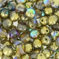 Rundperlen 4mm Crystal Golden Rainbow x50