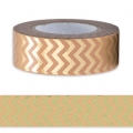Klebeband - Paper Poetry Tape 15mm Zickzack Light Coral Doré x10m