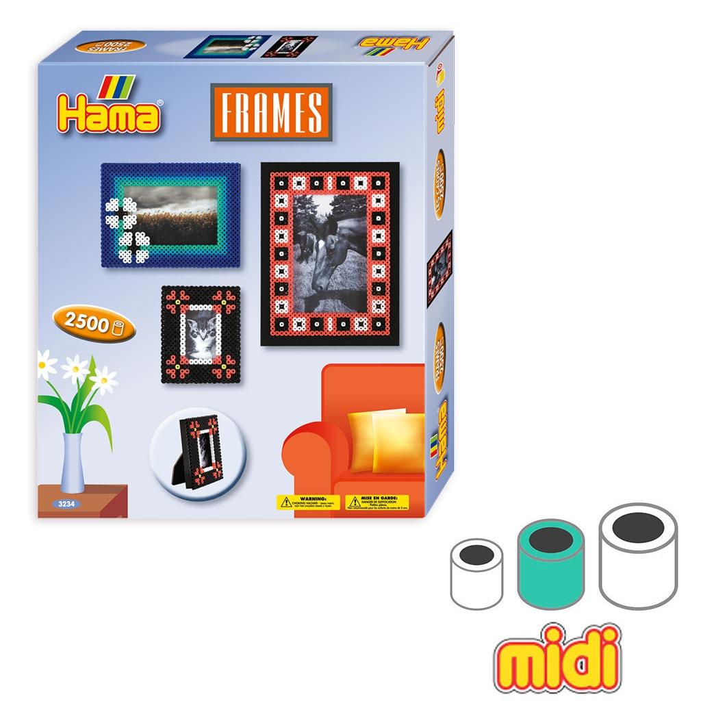 Kit Rahmen für Bügelperlen Hama MIDI 5 mm für Kinder - Hama - Perles ...