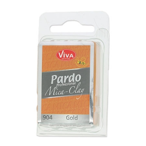 Pardo Viva Decor Professional Modelliermasse Mica Clay 56g n°904 Gold