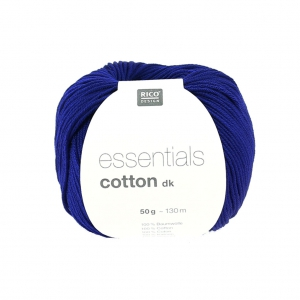 Essentials Cotton Dk Wolle Königsblau x50g