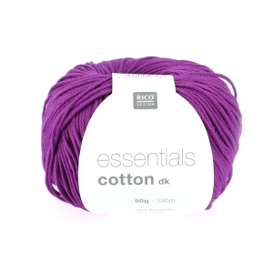 Essentials Cotton Dk Wolle Pflaume x50g
