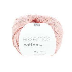 Essentials Cotton Dk Wolle Pastel Rosa x50g