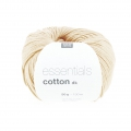 Essentials Cotton Dk Wolle Natur x50g