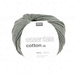 Essentials Cotton Dk Wolle Oliv Graux50g