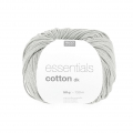 Essentials Cotton Dk Wolle Silber Grau x50g