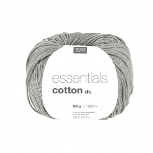 Essentials Cotton Dk Wolle Grau x50g