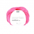 Essentials Cotton Dk Wolle Fuchsia x50g