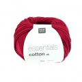 Essentials Cotton Dk Wolle Kirsch x50g