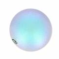 Swarovski Halb-gebohrte Perle 5818 8mm Iridescent Light Blue Pearl