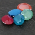 Cabochon Swarovski 4120 Oval 18x13mm Crystal Mint Green x1