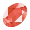 Cabochon Swarovski 4120 Oval 14x10mm Crystal Light Coral x1