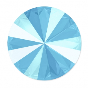 Swarovski Cabochon 1122 Rivoli 14mm Crystal Summer Blue x1