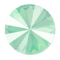 Swarovski Cabochon 1122 Rivoli 12mm Crystal  Mint Green x1