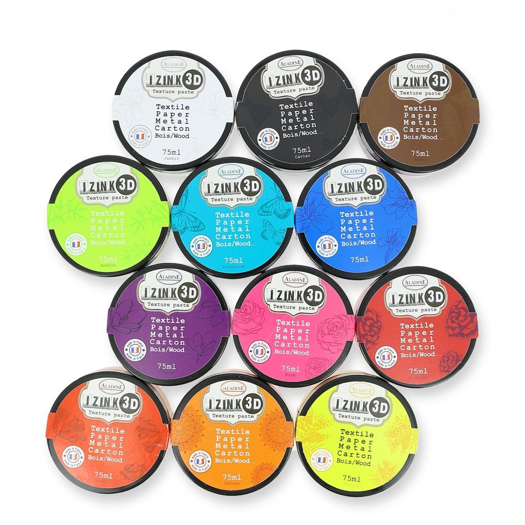 textil farbe aladine teig 3d izink safran x75ml aladine. Black Bedroom Furniture Sets. Home Design Ideas