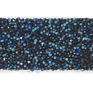 a3eef5686 Crystal Fabric Swarovski 612316 Hotfix 15mm Crystal Moonlight x16cm ...