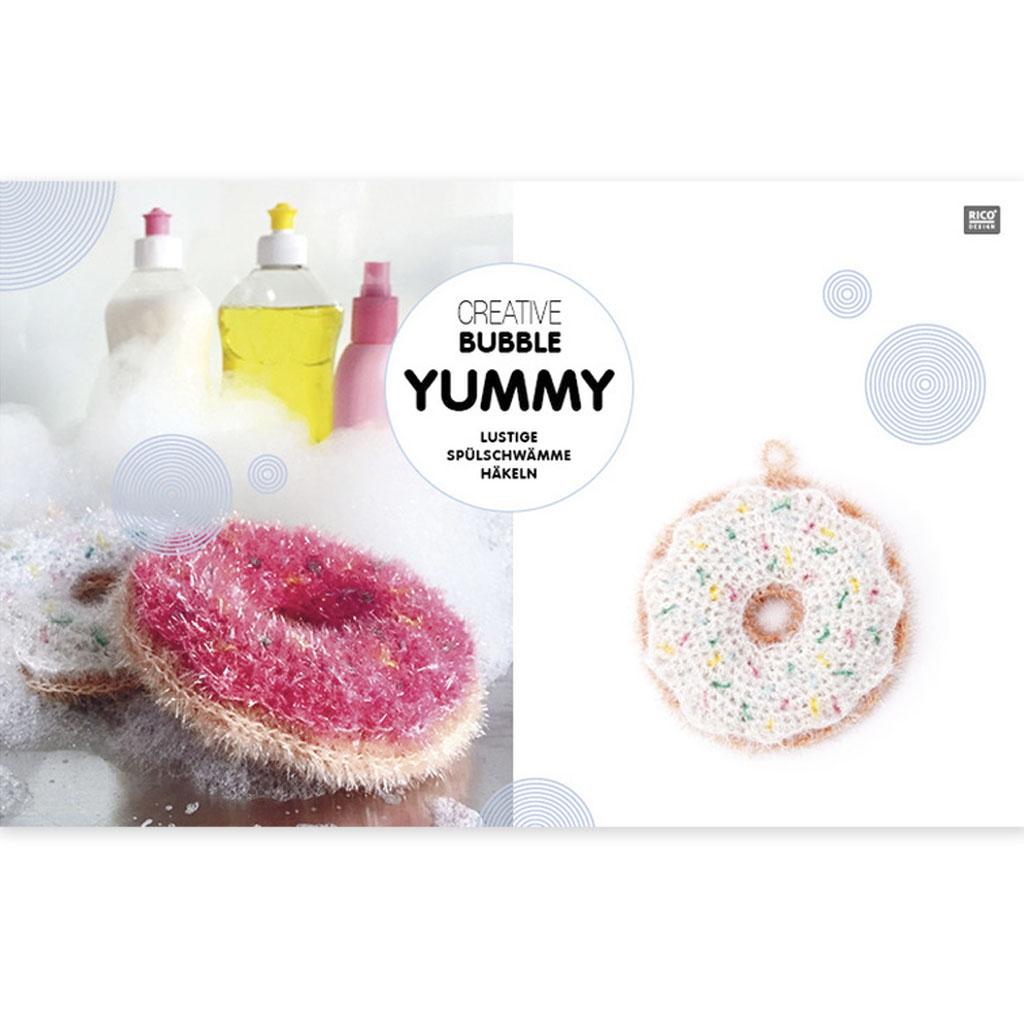 Creative Bubble Yummydrôles Déponges à Crocheter Pour La Vaisselle