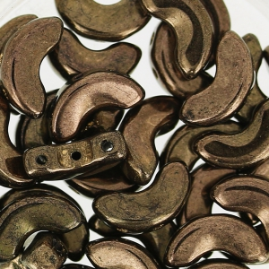 Arcos® par Puca® 5x10 mm Dark Gold Bronze x10g