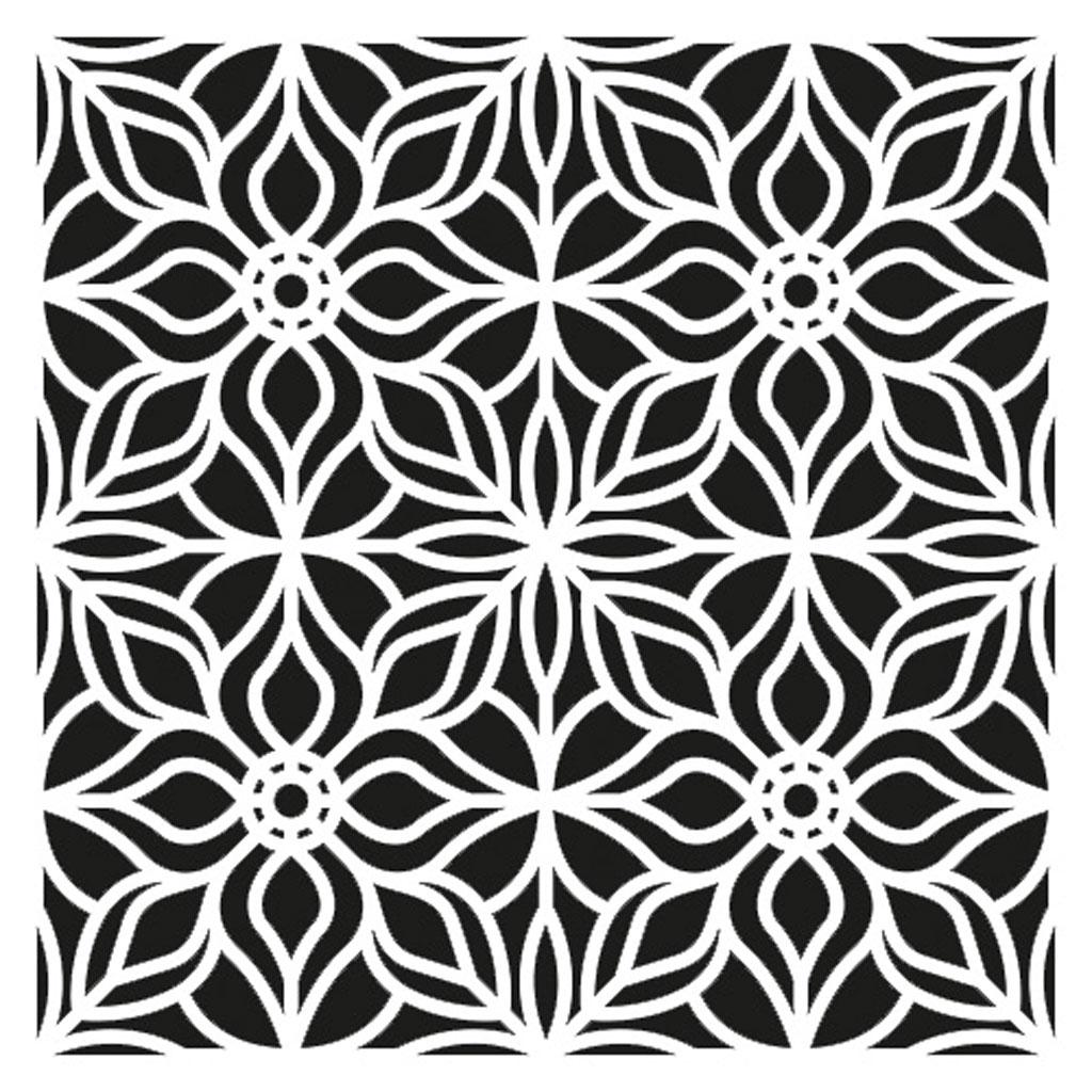 schablone mittleres modell 30x30 cm dekoration artemio. Black Bedroom Furniture Sets. Home Design Ideas