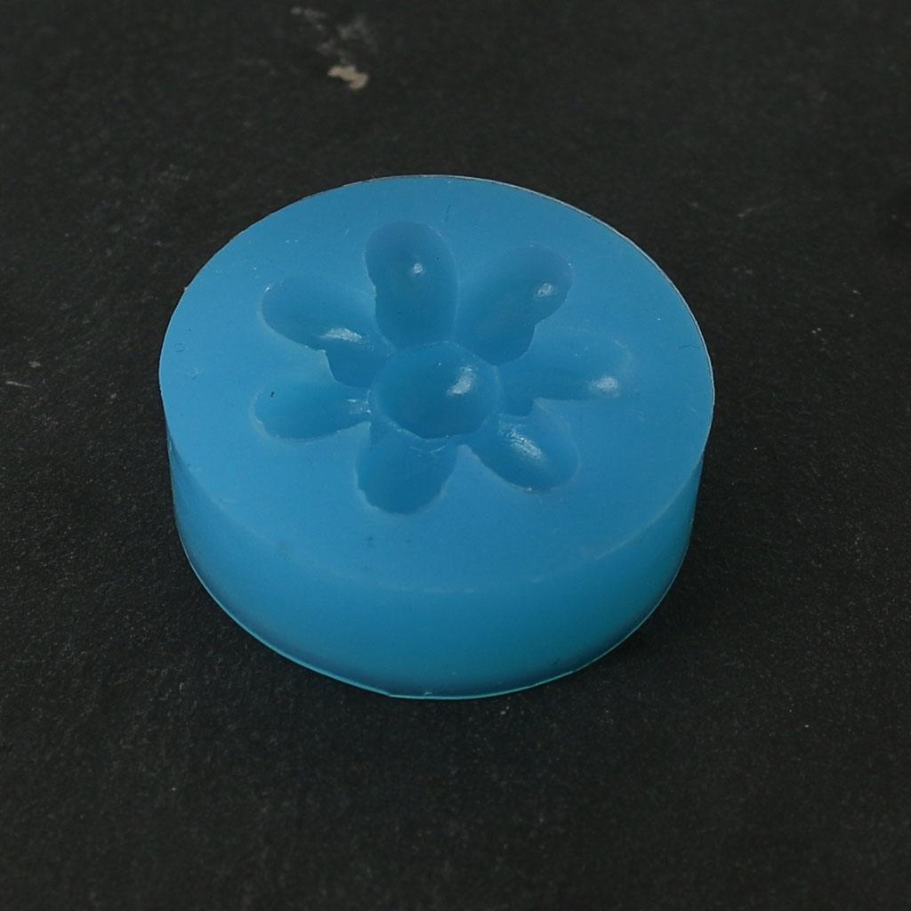 silikon form blume aus harz oder modelliermasse perles co. Black Bedroom Furniture Sets. Home Design Ideas