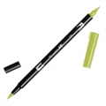 Feutre Tombow Dual Brush - Doppelspitziger Filzstift  Light Olive ABT-126