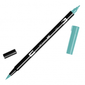 Feutre Tombow Dual Brush - Doppelspitziger Filzstift  Sea Blue ABT-373