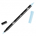 Feutre Tombow Dual Brush - Doppelspitziger Filzstift  Glacier Blue ABT-491