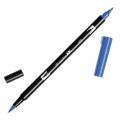 Feutre Tombow Dual Brush - Doppelspitziger Filzstift  Ultramarine ABT-555