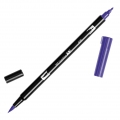 Feutre Tombow Dual Brush - Doppelspitziger Filzstift  Violet ABT-606