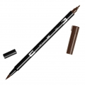 Feutre Tombow Dual Brush - Doppelspitziger Filzstift Red Brown ABT-899