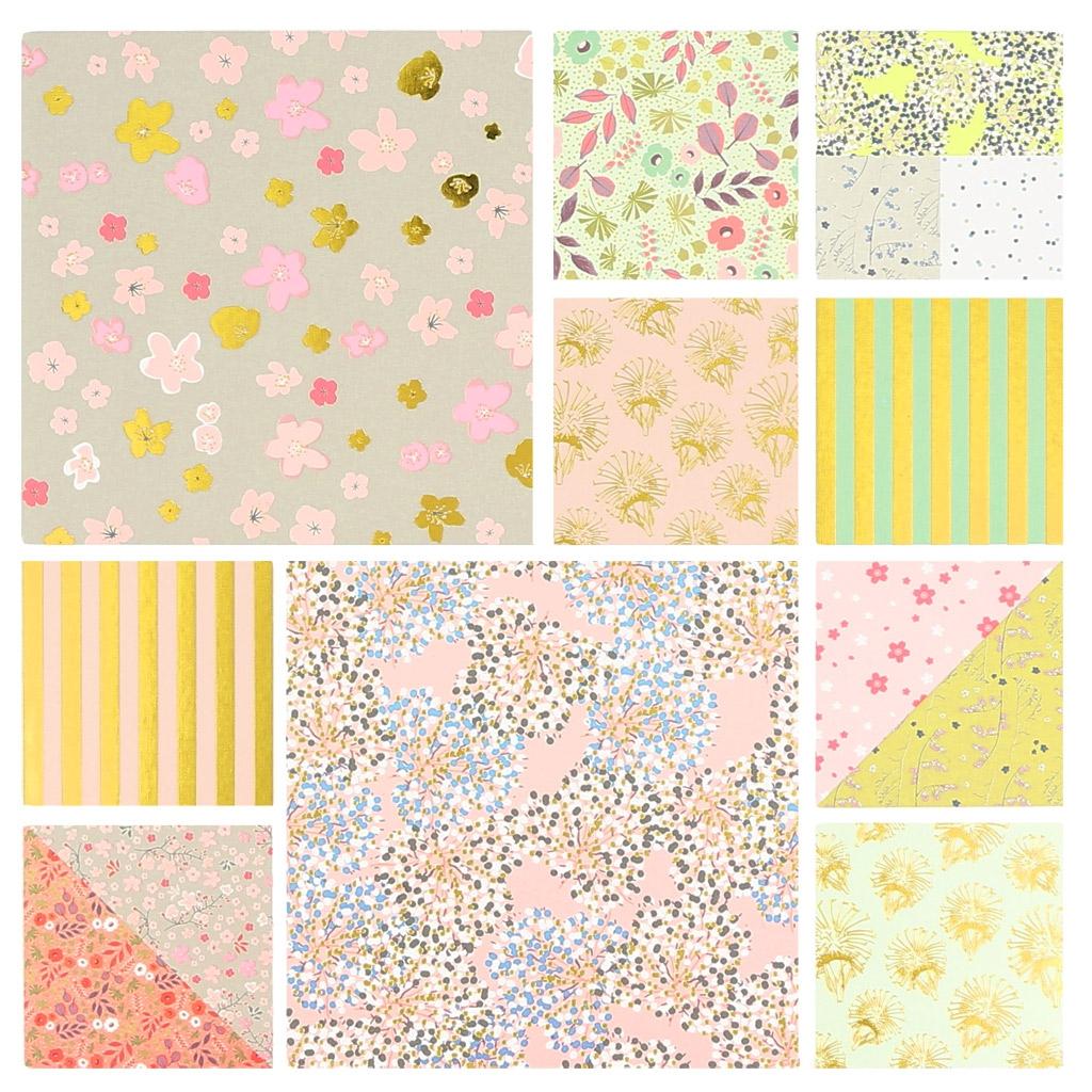 Papier Block Paper Poetry 21x30 cm Bouquet Sauvage x30 Blätter - P ...